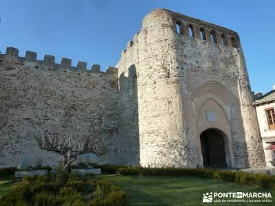Castillos de Cuellar y Coca - Arte Mudéjar;bosque de irati rutas singles madrid ruta del cares